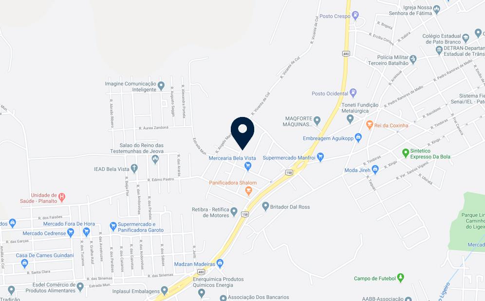 Google Maps - Loteamento Bela Vista - FAMEX Empreendimentos