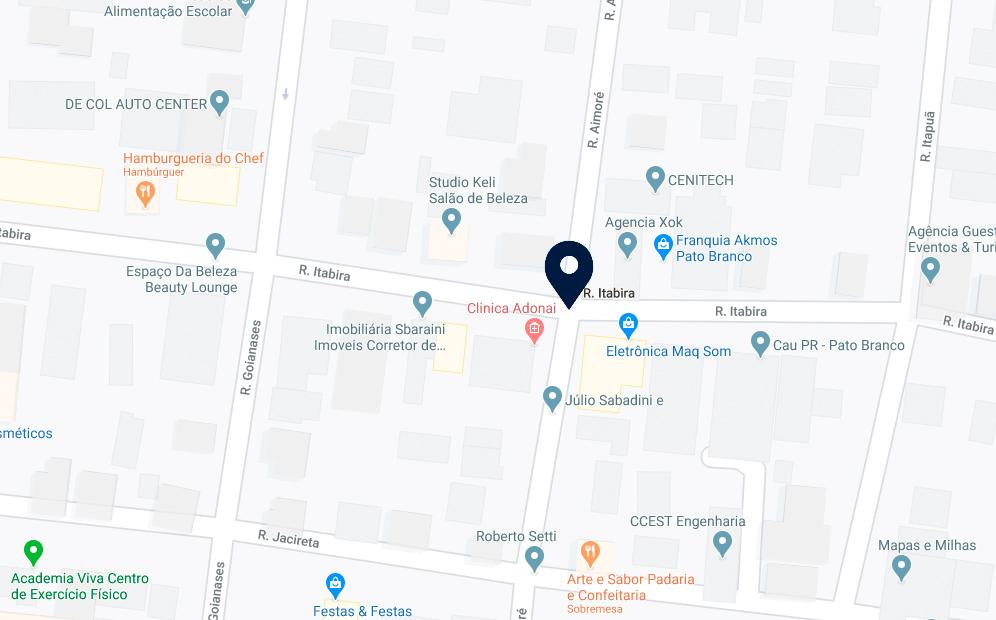 Google Maps - Edifício Esmeralda - FAMEX Empreendimentos