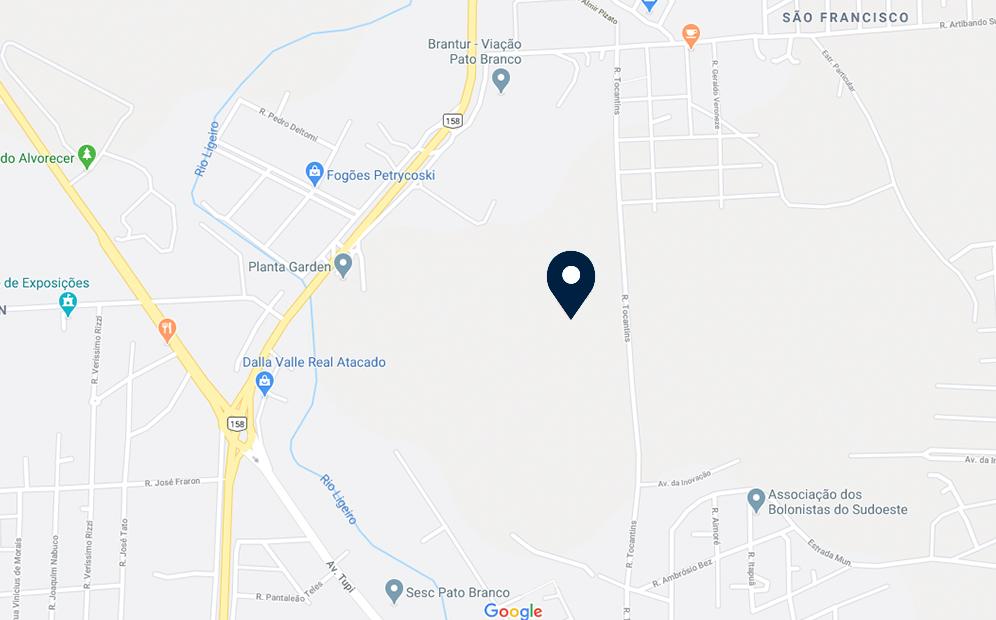 Google Maps - Loteamento Peloso - FAMEX Empreendimentos