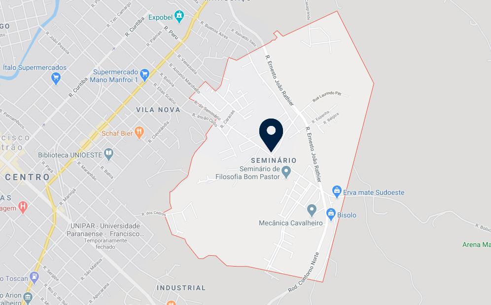Google Maps - Loteamento São José - FAMEX Empreendimentos