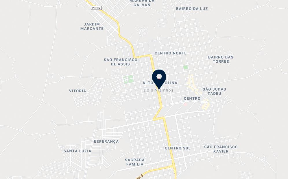 Google Maps - Loteamento Smaniotto - FAMEX Empreendimentos
