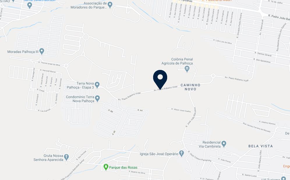 Google Maps - Loteamento Parque Vale Verde - FAMEX Empreendimentos