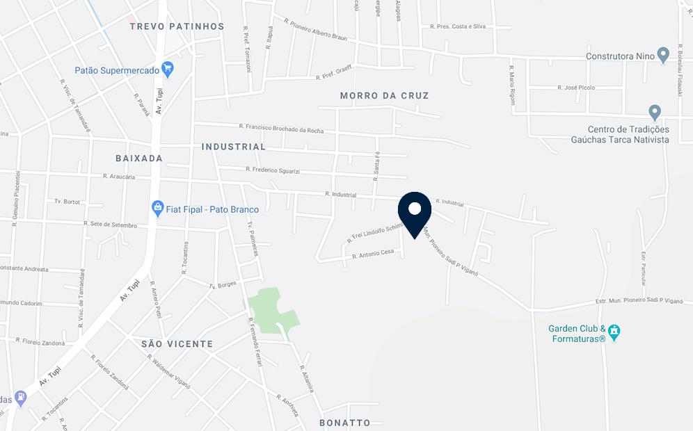 Google Maps - Loteamento Bonatto - FAMEX Empreendimentos