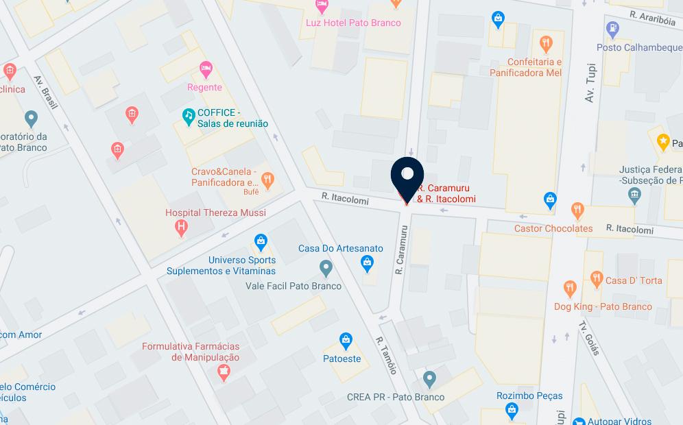 Google Maps - Edifício Colibri - FAMEX Empreendimentos